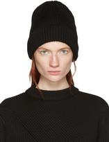 Hyke Black Wool Beanie