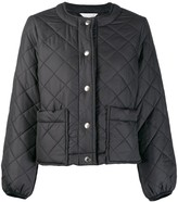 MACKINTOSH KEISS Black Quilted Jacket | LQ-1003