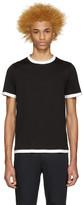 Maison Margiela Black Painted Seams T-Shirt