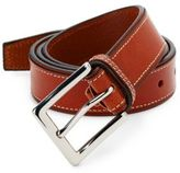 Cole Haan 30MM Contrast-Stitched Leather Belt
