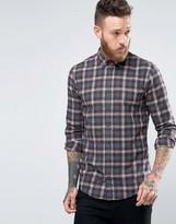 BOSS ORANGE By Hugo Boss Edipoe Check Shirt Slim Fit Buttondown