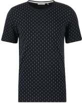 Minimum Delta Print Tshirt Dark Navy
