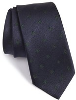 Gucci Men's New Alaie Embroidered Silk Tie