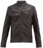 Belstaff V Racer Lambskin-leather Jacket - Mens - Black