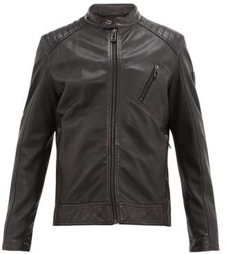 Belstaff V Racer Lambskin-leather Jacket - Mens - Black