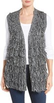 Dex Women's Fringe Sweater Vest