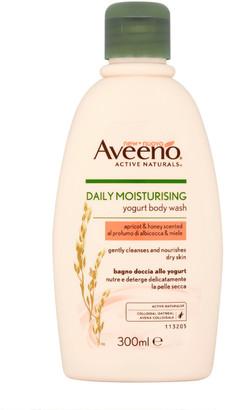 Aveeno Daily Moisturising Apricot & Honey Body Wash 300Ml