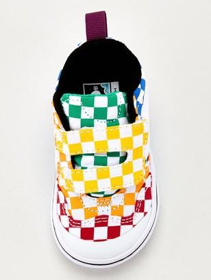 Vans New Skool Checkerboard Infant Trainer - Multi