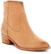 Frye Ray Seam Short Western Bootie