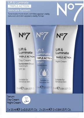 No7 Lift & Luminate Triple Action Travel Set
