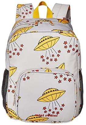 Mini Rodini UFO School Bag (Grey) Backpack Bags