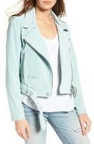 Blank NYC Women's Blanknyc Morning Suede Moto Jacket