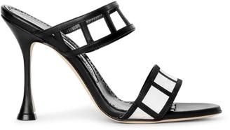 Manolo Blahnik Abey 105 mule sandals