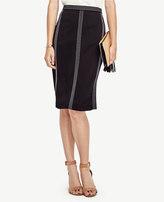 Ann Taylor Stitch Stripe Skirt