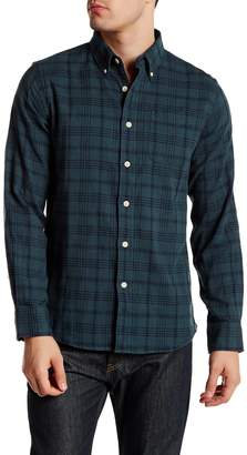 Grayers Regular Fit Plaid Flannel Shirt