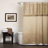 Lush Decor U15947Q12 Triangle Home Fashions Serengeti Shower Curtain, Tan