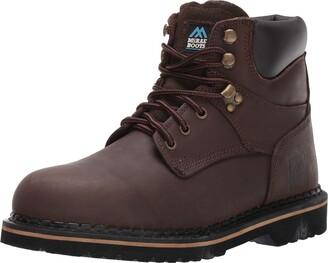 John Deere Men's McRae Ankle Boot Brown/Brown2 6.5 W US