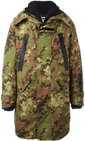 DSQUARED2 Ski camouflage parka - men - Feather Down/Polyamide/Polyester - 46