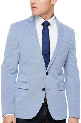 Jf J.Ferrar Mens Knit Super Slim Fit Sport Coat