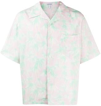 Loewe Daisy-Print Bowling Shirt