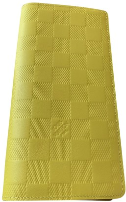 Louis Vuitton Green Leather Wallets