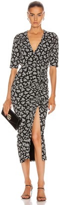 Veronica Beard Mariposa Dress in Black & White | FWRD