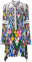 Peter Pilotto argyle print dress
