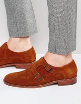 Ted Baker Kartor Suede Monk Shoes
