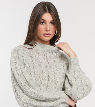 Asos DESIGN Tall cable jumper in lofty knit