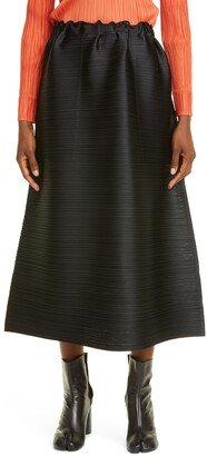 Pleats Please Issey Miyake Cantabile Pleated Midi Skirt