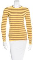 Dolce & Gabbana Rib Knit Striped Sweater