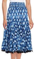 Context Tie Dye Crinkle Skirt