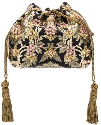 Etro Mini Floral Jacquard Bucket Bag