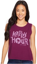 Life is Good Happy Hour Muscle Tee