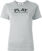 Comme des Garcons logo print T-shirt - women - Cotton - S