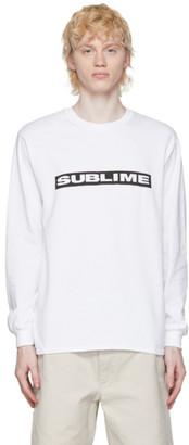 Wacko Maria White Sublime Edition 40 oz. To Freedom Long Sleeve T-Shirt