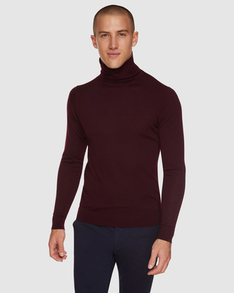 Oxford Aaron Turtle Neck Wool Pullover