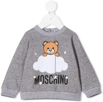 MOSCHINO BAMBINO Cloud Teddy sweatshirt