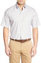 Peter Millar Pinwheel Tattersall Regular Fit Sport Shirt
