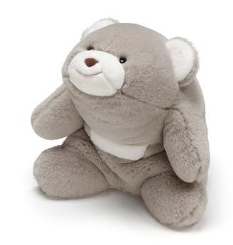 """Gund Snuffles Teddy Bear Stuffed Plush Animal, Gray, 10"""""""