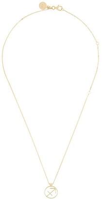 Karen Walker Sagittarius necklace