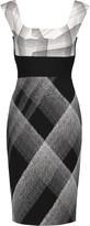 Roland Mouret Arabella printed wool-blend crepe dress