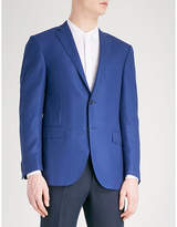 Corneliani Basketweave academy tailored-fit wool jacket