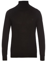 Alexander Mcqueen Roll-neck Cashmere-knit Sweater