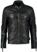 Gipsy Leather Jacket Schwarz