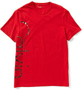 Calvin Klein Jeans Distressed Foiled Tee