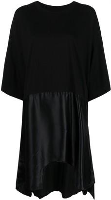 MM6 MAISON MARGIELA asymmetric hem T-shirt dress