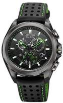 Citizenx Citizen #AT7035-01E Men's Eco Drive Proximity Perpetual Calendar Chronograph IPhone Compatible Watch