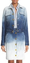 Tomas Maier Women's Ombre Wash Denim Jacket