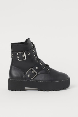 H&M Buckle boots
